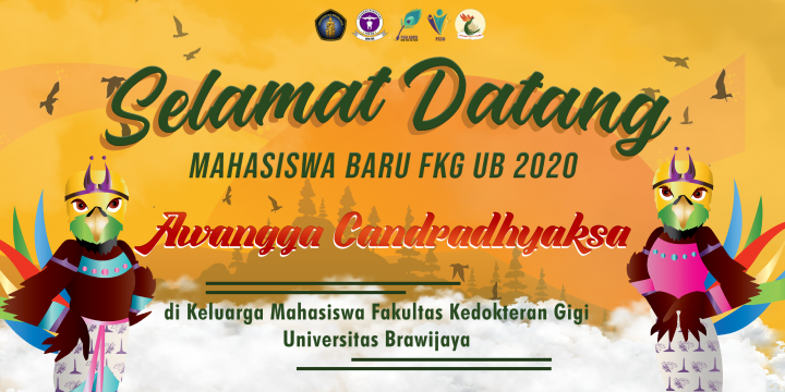 Twibbon dan Virtual Background PK2-Maba FKG UB 2020