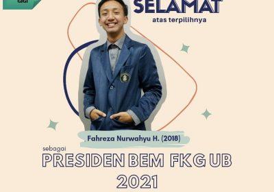 Hasil Pemilwa FKG UB 2021